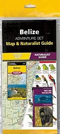 Belize Adventure Set: Map & Naturalist Guide