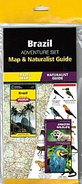 Brazil Adventure Set: Map & Naturalist Guide