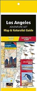 Los Angeles Adventure Set: Map & Naturalist Guide