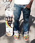 Made for Skate: The Illustrated History of Skateboard Footwear Cover