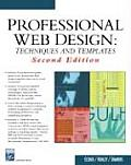 Professional Web Design Techniques & 2ND Edition