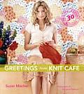 Greetings from Knit Cafe Cover