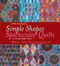 Kaffe Fassetts Simple Shapes Spectacular Quilts 23 Original Quilt Designs