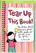 Tear Up This Book The Sticker Stencil Stationery Games Crafts Doodle & Journal Book for Girls