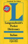 Langenscheidt's Pocket Dictionary Italian (Langenscheidt's Pocket Dictionaries)