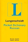 Russian (Langenscheidt's Pocket Dictionaries) Cover