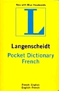 Langenscheidt Pocket French Dictionary 2005 Edition