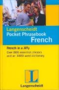 Langenscheidt Pocket Phrasebook French: With Travel Dictionary and Grammar