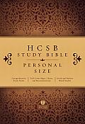 Study Bible-HCSB-Personal Size