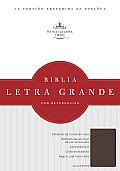 Biblia Letra Grande Con Referencias-Rvr 1960