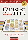 Holman Rainbow Study Bible: KJV Edition, Mantova Brown LeatherTouch