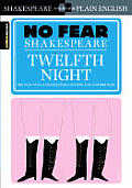Twelfth Night (Sparknotes No Fear Shakespeare) Cover
