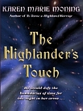 The Highlander's Touch (Large Print)