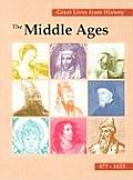 Great Lives from History: The Middle Ages Cover