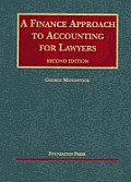 A Finance Approach to Accounting for Lawyers (University Casebook) Cover