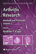 Arthritis Research, Volume 2: Methods and Protocols