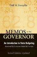 Memos to the Governor: An Introduction to State Budgeting