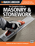 Black & Decker the Complete Guide to Masonry & Stonework [With DVD] (Black & Decker Complete Guide To...)