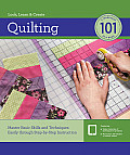 Quilting 101 [With DVD]