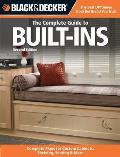 Black & Decker the Complete Guide to Built-Ins: Complete Plans for Custom Cabinets, Shelving, Seating & More, Second Edition Cover