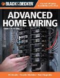 Black & Decker Advanced Home Wiring: Updated 3rd Edition * DC Circuits * Transfer Switches * Panel Upgrades (Black & Decker)