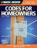 Black &amp; Decker Codes for Homeowners: Electrical Mechanical Plumbing Building Updated Through 2014 (Black &amp; Decker Complete Guide To...) Cover