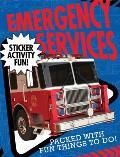 Emergency Services Sticker Activity Fun