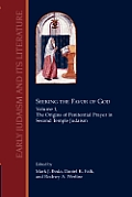 Seeking the Favor of God: Volume 1: The Origins of Penitential Prayer in Second Temple Judaism