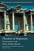 Theodore of Mopsuestia: Commentary on the Minor Pauline Epistles