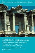Libanius's Progymnasmata: Model Exercises in Greek Prose Composition and Rhetoric