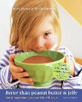 Better Than Peanut Butter & Jelly, Revised Edition: Quick Vegetarian Meals Your Kids Will Love Cover