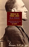 Novels in Three Lines (New York Review Books Classics) Cover