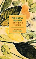The Journal of Henry David Thoreau 1837-1861 Cover