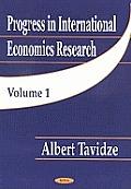 Progress in International Economics Researchv. 1