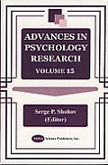 Advances in Psychology Research