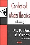 Condensed Matter Theoriesv. 17