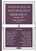 Advances in Psychology Researchv. 24