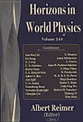 Horizons in World Physicsv. 244