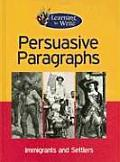 Persuasive Paragraphs (Learning to Write)