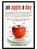 apple a day The Myths Misconceptions & Truths About the Foods We Eat