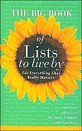 Big Book of Lists to Live By