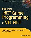 Beginning .Net Game Programming in VB .Net Cover