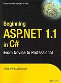 Beginning ASP.Net in C# (From Novice to Professional)