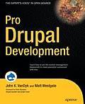 Pro Drupal Development 1st Edition