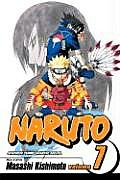 Naruto Volume 7 Cover