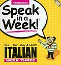 Speak in a Week Italian 3