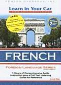 Learn in Your Car French, Level One with Book(s) (Learn in Your Car)