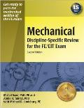 Mechanical Discipline Specific Review for the FE/EIT Exam, 2nd Ed.