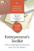 Entrepreneurs Toolkit Harvard Business Essentials