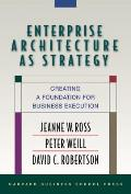 Enterprise Architecture As Strategy : Creating a Foundation for Business Execution (06 Edition)